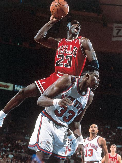 Famouse Mba Players Before Michael by Michael Powers Ewing For A Dunk During