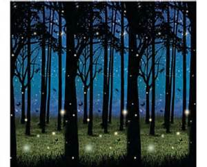 Enchanted Forest Wall Mural 30 foot enchanted forest wall mural halloween scene setter