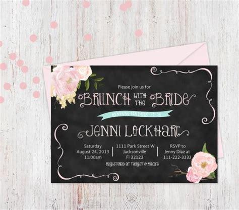 printable bridal shower brunch invitations printable bridal shower invitation bridal brunch
