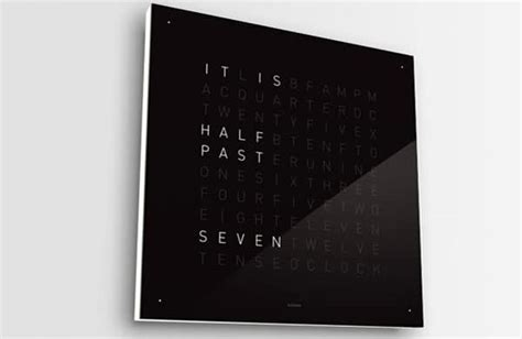 coolest latest gadgets spatially telling time modern designer wall clock the seriously stylish clock