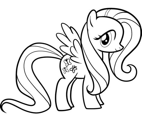 fluttershy my little pony coloring page my little pony free coloring pages of my little pony fluttershy