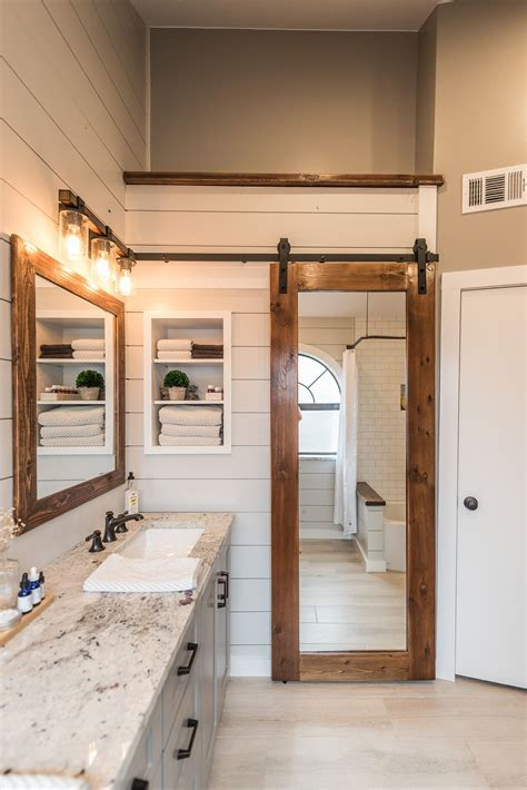 Modern Farmhouse Bathroom by Modern Farmhouse Bathroom Before After Master Bath