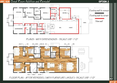 beautiful great room addition plans house plans