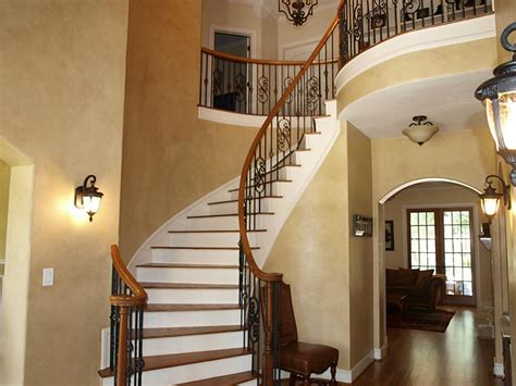 wooden and wrought iron staircase designs home design by