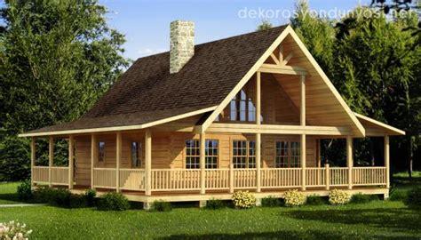 K 252 T 252 K Ev Modelleri Dekorasyon D 252 Nyası Log Cabin House Plans Level 1