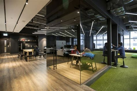office design hong kong warehouse converted to creative office space