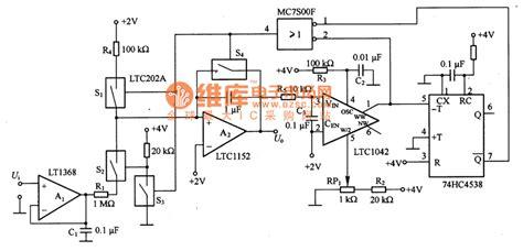 integrated circuit comparator a window comparator circuit made by ltcl042 basic circuit circuit diagram seekic
