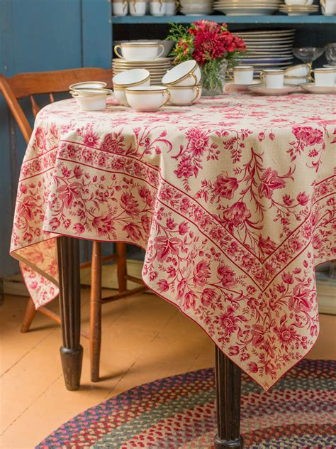 grandmother s room tablecloth linens kitchen