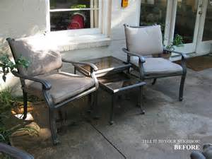 Coleman Patio Chairs Tell It To Your Coca Cola Navy Patio Redo