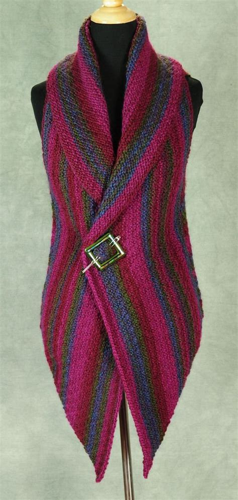 knitting pattern simple vest vest pattern vests and patterns on pinterest