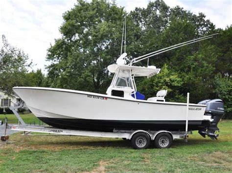 regulator boats for sale on craigslist 1997 used regulator 26 classic center console fishing boat