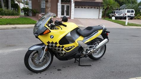 Bmw Motorcycle Yellow by 1998 K1200rs Yellow Motorcycles For Sale