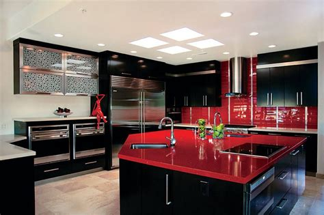 color combination with red red and black color schemes home decorating trends homedit