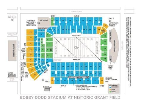 tech football seating map 7 bobby dodd stadium seating chart artist resume
