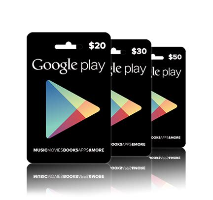 Where Can You Get Google Play Gift Cards - google play google