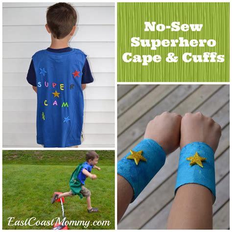 diy superhero costumes cutesy crafts