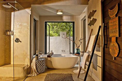 Bush Bathroom Bush C Luxury Lodge Accommodation Sabi Sabi