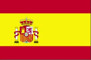 spain colors flags of speaking countries the flag