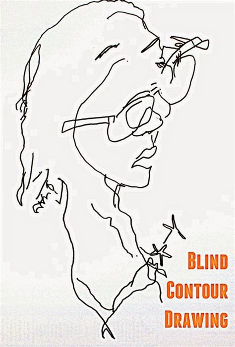 Blind Contour Drawing Lesson the world s catalog of ideas