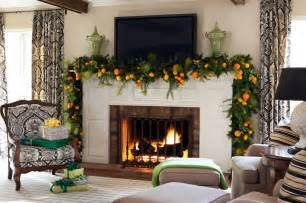 fireplace decorations christmas mantel decor inspiration