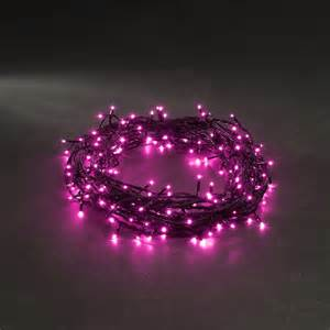 konstsmide pink micro led 120 multi function light set