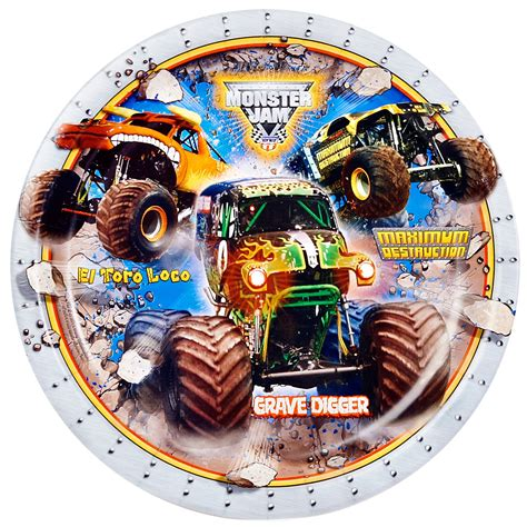 monster truck jam party supplies monster jam dinner plates monster truck dinner plates