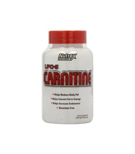 Nutrex L Carnitine nutrex lipo 6 carnitine capsules liquides 120 count