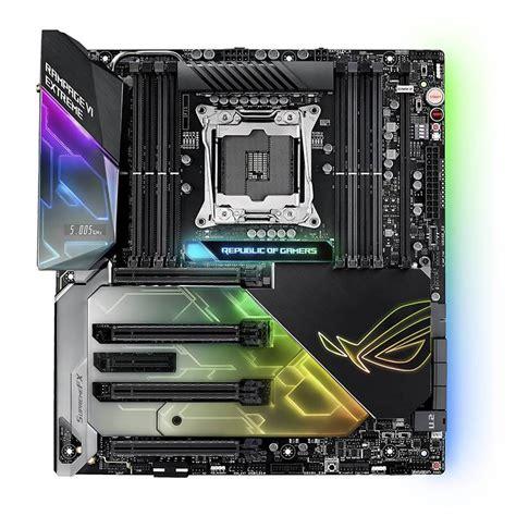 Asus Rog Rage Vi Lga 2066 X299 Ddr4 asus rog rage vi x299 lga 2066 e atx motherboard rog rage vi mwave au