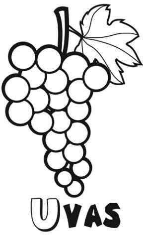 dibujos infantiles uvas dibujos de uvas para imprimir y pintar con ni 241 os