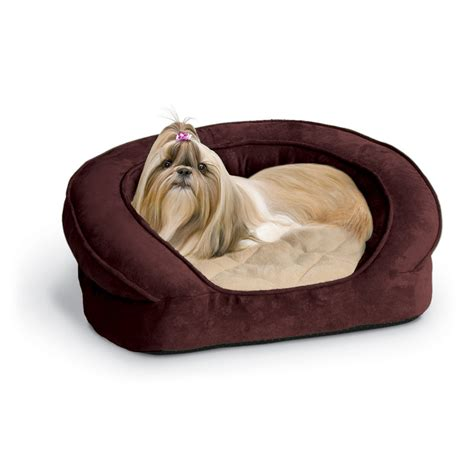 k h dog beds k h manufacturing deluxe ortho sleeper bolster dog bed
