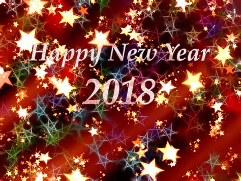 happy blessed new year 2018 free 2018 new year wallpapers 9to5animations