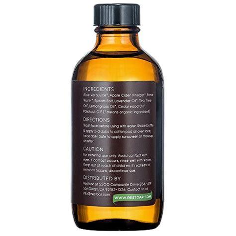 apple cider vinegar toner 1 apple cider vinegar face toner clears acne blemishes