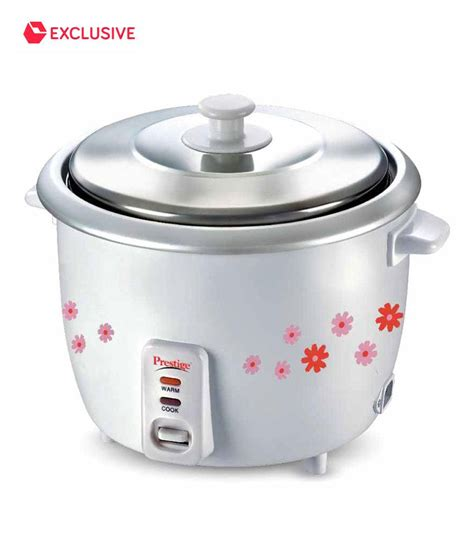 Rice Cooker 1 prestige 1 8 ltr electric rice cooker prso price in india buy prestige 1 8 ltr electric rice