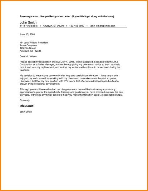 Letter In How To Write 9 How To Write A Resignation Letter Sle Ledger Paper