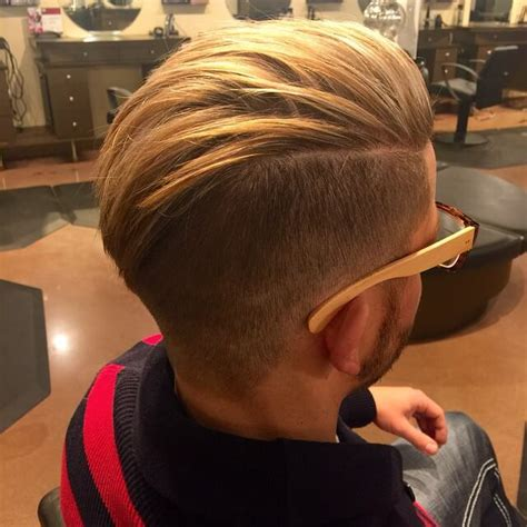 view from back of pompadour hair style amazing pompadours quiffs and undercut hairstyle inspirations