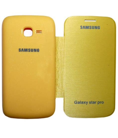 Cover Tutup Belakang Samsung S7262 S7260 Galaxy aara diary flip cover for samsung galaxy pro s7262 s7260 yellow flip covers