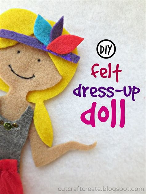 felt dress up doll template template to make a diy felt dress up doll crafts for