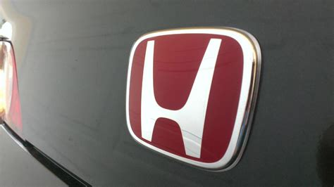 3pcs jdm honda civic front rear steering wheel red h