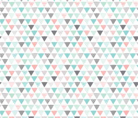 tribal pattern blue and pink geometric tribal aztec triangle pastel pink and blue