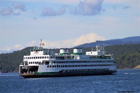 ferry juan washington state ferry to friday harbor san juan islands