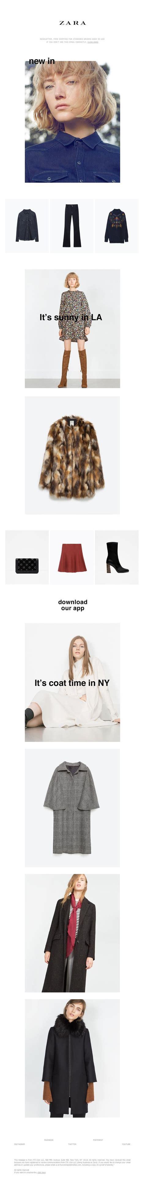 zara newsletter photo email design www datemailman fashion newsletters 25 best ideas about web zara on fashion layouts fashion graphic design and graphic