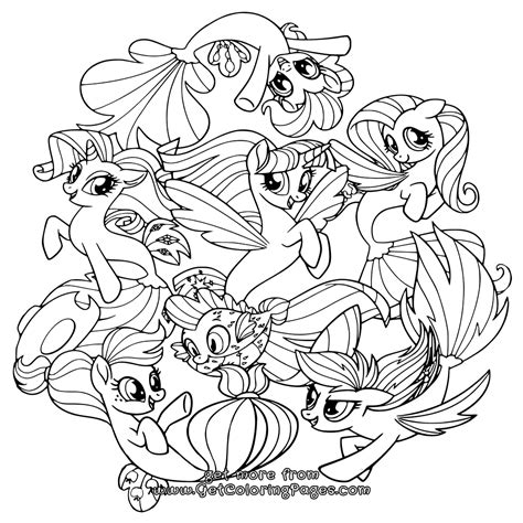 my little pony mane six coloring pages my little pony movie 2017 coloring pages seaponies mane 6