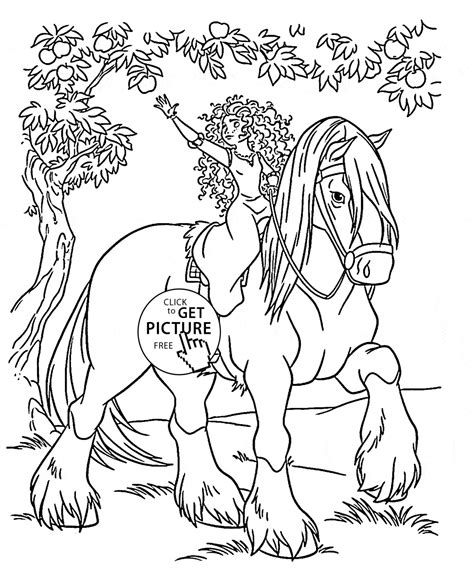 pony ride coloring pages coloring pages of a little girl riding a horse pictures to