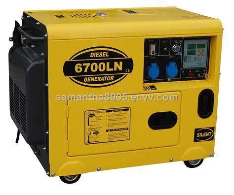 hp6700ln silent type 5kw diesel generators top sells