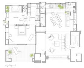 interior home plans open floor plan penthouse interior design by aj architects