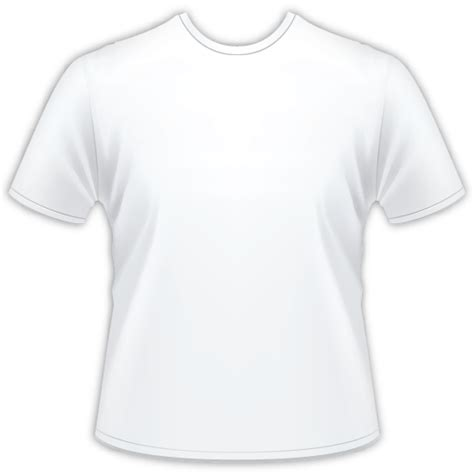 white tshirt template white shirt template clipart best