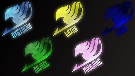 fairy tail logos 2 by anzachs on deviantart