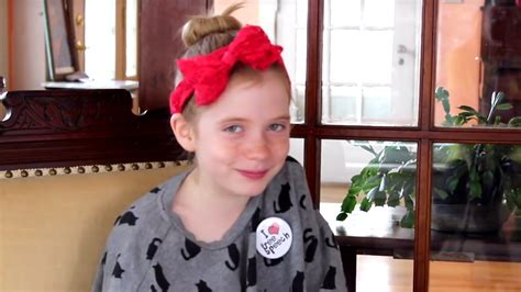 how can i style a 8 year old hair 9 year old reporter hilde lysiak answers her critics is