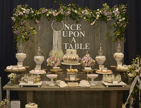 "Rustic, Bohemian Chic Dessert Table / Wedding ""Confetti Fair""   Catch My Party"