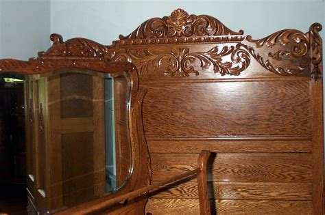 antique oak bedroom furniture three piece solid oak bedroom set for sale antiques